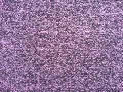 Boucle Strick lila-schwarz meliert