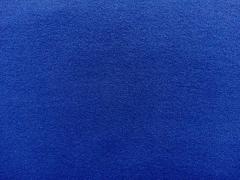 Jackenstoff Wollstoff ähnlich Velourstoff, royalblau