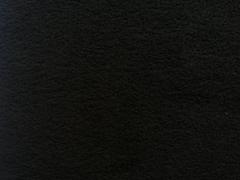 RESTSTÜCK 32 cm Lambskin Fleece uni, schwarz