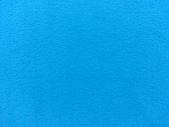 RESTSTÜCK 25 cm Lambskin Fleece uni, türkis