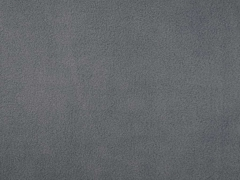 RESTSTÜCK 80cm Lambskin Fleece uni mittelgrau