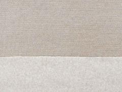 RESTSTÜCK 96 cm angerauter Strick , hellbeige melange