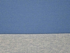 Baumwoll-Sweat Indigo Färbung, jeansblau