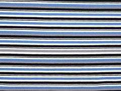 Jersey unregelmäßige Streifen, grau blau