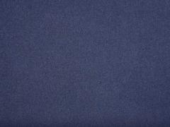 RESTSTÜCK 52 cm Velour Jackenstoff Wollstoff ähnlich, navy