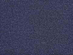 RESTSTÜCK 40 cm weicher Strick Perlmuster Verona,  dunkelblau