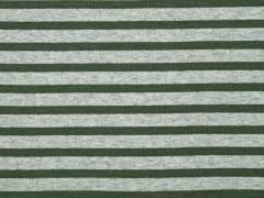 Sweat Alpenfleece Streifen,khaki