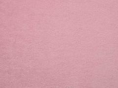 RESTSTÜCK 81 cm weicher Baumwollfleece, helles Altrosa