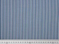 Jersey regelmäßige Streifen, grau