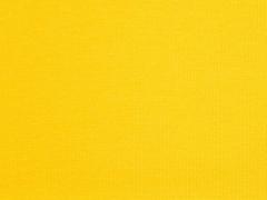 glattes Bündchen - sonnengelb