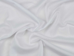 atmungsaktives Mesh für Sportbekleidung, weiß