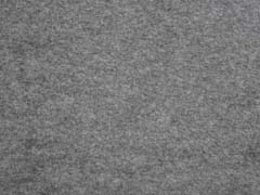 weicher Baumwollfleece, mittelgrau melange