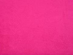 weicher Baumwollfleece, pink (fuchsia)