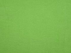 weicher Baumwollfleece, Apfelgrün
