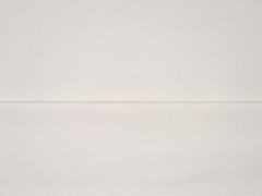 RESTSTÜCK 40 cm French Terry Sweat Stoff uni, creme