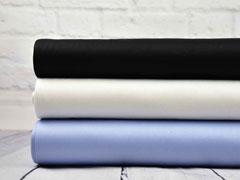 Baumwollsatin elastisch uni, ecrue