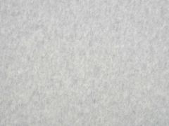 butterweicher Organic Cotton Fleece, hellgrau meliert