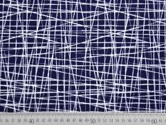 Jersey wilde Linien, dunkelblau