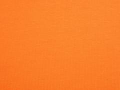 RESTSTÜCK 20 cm Sweatstoff French Terry Sommersweat, kräftiges orange