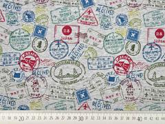 angerauter Sweat Briefmarken, dunkelmint weinrot