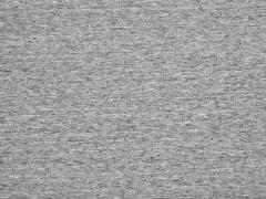 RESTSTÜCK 57 cm angerauter Sweat Melange, mittelgrau