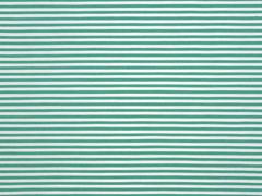 Baumwolle Stretch Streifen schmal, grün