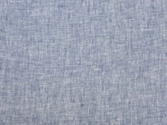 Leinen jeansblau melange