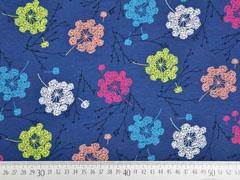 Jersey große Pusteblumen, blau