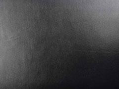 RESTSTÜCK 103 cm glatter Lederimitat Jersey Stephanie, schwarz