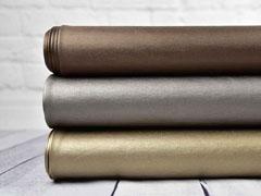 Beschichteter Jersey Jeggings Stoff, taupe metallic