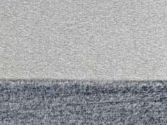 Sweat Alpenfleece uni, grau melange