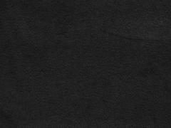 Sweat Frottee uni, schwarz