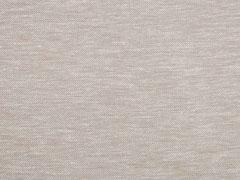 RESTSTÜCK 36 cm Baumwolle Leinen, beige weiß meliert