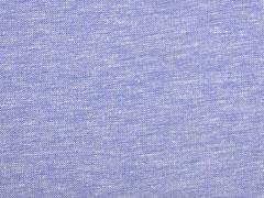 Baumwolle Leinen, blau weiß meliert