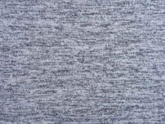 Melierter Strickstoff, grau