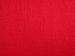 Baumwolle Dirndl Stoff Romantico uni, rot