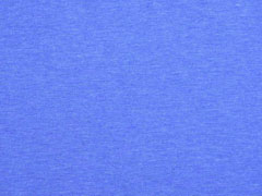 Jersey uni melange, blau