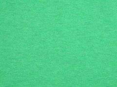 Jersey uni melange, grün