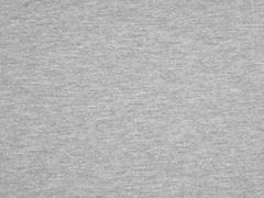 Piqué T-Shirt Stoff uni, grau meliert