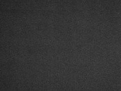 Piqué T-Shirt Stoff uni, schwarz