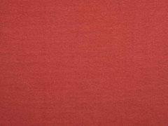Glattes Bündchen - rostbraun