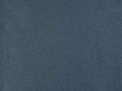 Leinen Baumwolle Webware uni, indigoblau