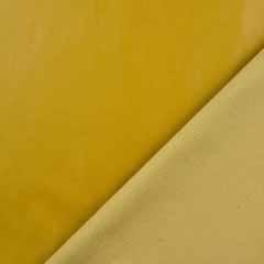 Lederimitat elastisch uni, senfgelb