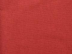 Canvas Stoff uni, terracotta braun
