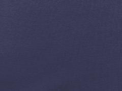 Glattes Bündchen - nachtblau