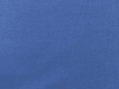 Glattes Bündchen - royalblau