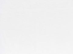 Bündchenstoff Meterware Glattstrick uni, reinweiss