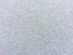 Glattes Bündchen - hellgrau melange