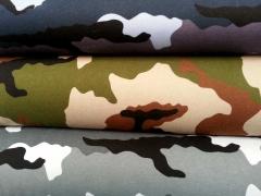 RESTSTÜCK 30 cm angerauter Sweat Camouflage, grau