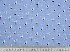 Jersey Möwen Sealife, weiß hellblau